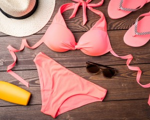 Bathing suit and summer accessories